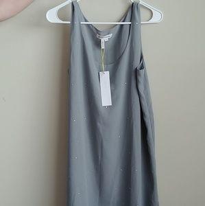 NWT Gray dress with gems